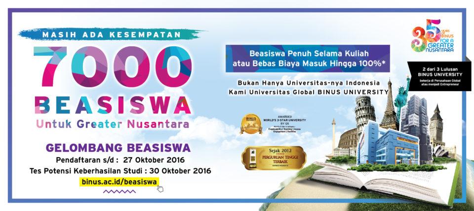 7.000 Beasiswa