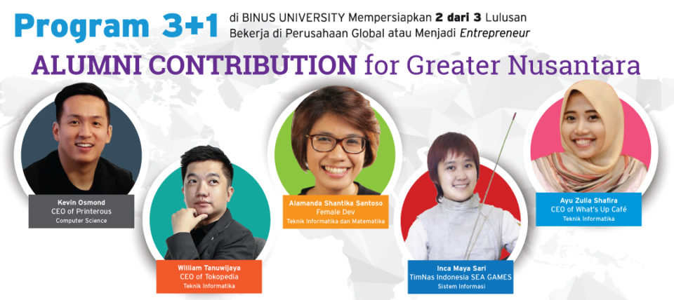 Alumni Contribution for Greater Nusantara